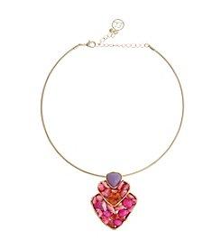 Erica Lyons® Choker  Pendant Necklace