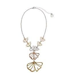 Erica Lyons® Petal To The Metal Y Necklace
