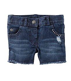 Carter's® Baby Girls Denim Shorts