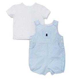 Little Me® Baby Cute Chap Shortall Set