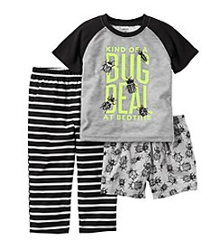 Carter's® Boys' 5-12 3-Piece Bug Deal Pajama Set