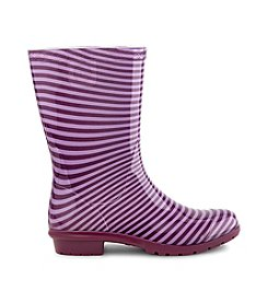 UGG® Girls' Striped Raana Rain Boots