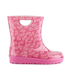UGG® Girls' Butterfly Print Rahjee Rain Boots