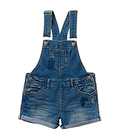 Silver Jeans Co. Girls' 7-16 Nisha Overall Romper Jeans