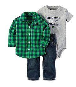 Carter's® Baby Boys 3-Piece Shirt/pant Set
