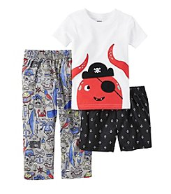 Carter's® Boys' 5-12 3-Piece Octopus Pajama Set