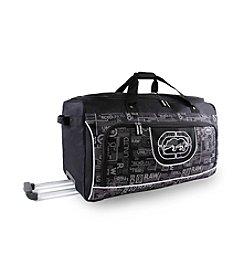 Ecko Unltd. Alpha Large Rolling Duffel Bag