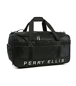 Perry Ellis® Weekender Travel Duffel Bag with Shoe Pocket