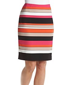 Kasper® Striped Skirt