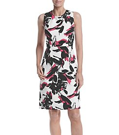 Kasper® Printed Dress