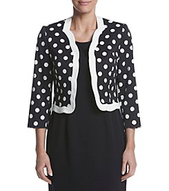 Kasper® Dot Pattern Jacket