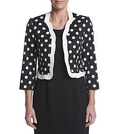 Kasper® Dot Pattern Jacket