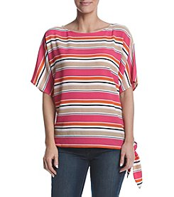 MICHAEL Michael Kors® Striped Side Tie Top