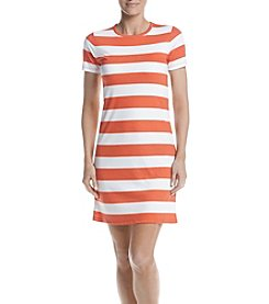 MICHAEL Michael Kors® Rugby Striped T-Shirt Dress