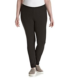 Pink Rose® Plus Size Peached Leggings