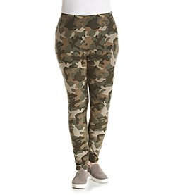 Pink Rose® Plus Size Camo Leggings