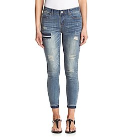 Hippie Laundry Release Hem Ankle Jeans