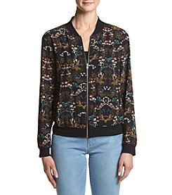 Chelsea & Theodore® Printed Bomber Jacket