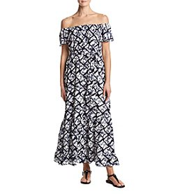 Chelsea & Theodore® Geometric Maxi Dress