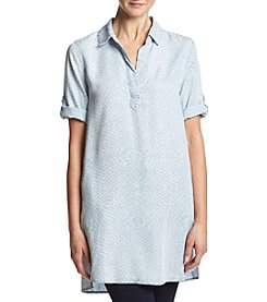 Chelsea & Theodore® Roll Tab Sleeve Tunic