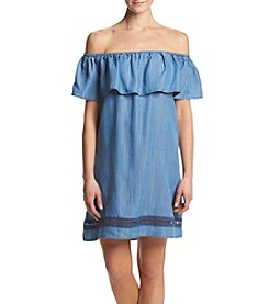 Chelsea & Theodore® Off Shoulder Dress
