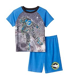 Komar Kids® Boys' 4-16 2-Piece Astronaut 4D+ Sleep Set