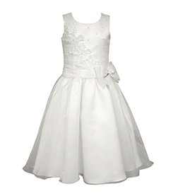 Bonnie Jean® Girls' 7-12 Pearl Trim Dress
