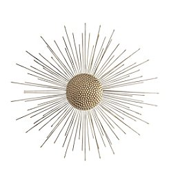 Stratton Home Decor Gold Burst Wall Decor