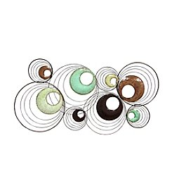 Stratton Home Decor Multi-Circle Wall Decor
