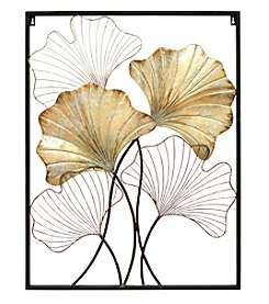 Stratton Home Decor Palm Branch Panel Wall Decor