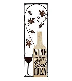 Stratton Home Decor Wine Panel