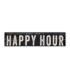 Stratton Home Decor Happy Hour Wall Art