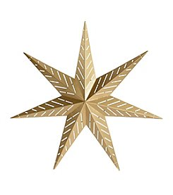 Stratton Home Decor Gold Star Wall Decor
