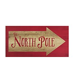 Stratton Home Decor North Pole Wall Art Decor