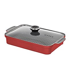 Maker Homeware™ Rectangular Steam Grill Pan