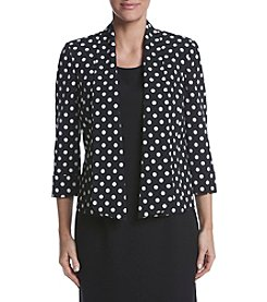 Kasper® Dot Printed Jacket