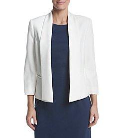 Kasper® Open Front Jacket