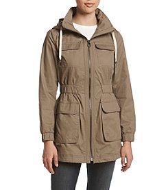 Laundry® Waxy Zipfront Anorak Jacket