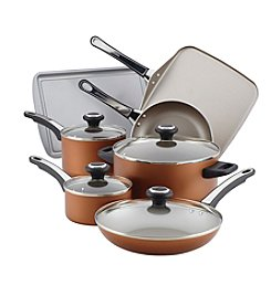 Farberware® High Performance Nonstick Aluminum 17-pc Cookware Set