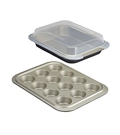Anolon® 3-Piece Bakeware Set with Lid