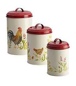 Paula Deen® Pantryware 3-Piece Food Storage Canister Set