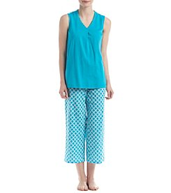 Intimate Essentials® V-Neck Pajama Set