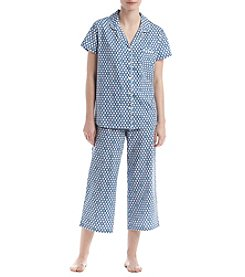 KN Karen Neuburger Geo Pajama Set