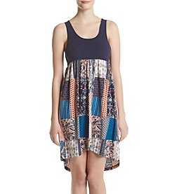 KN Karen Neuburger Patchwork Sleep Dress