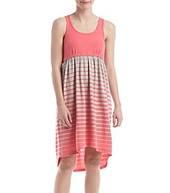 KN Karen Neuburger Ombre Stripe Sleep Dress