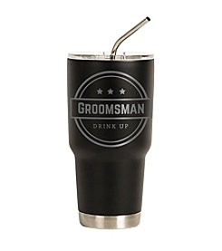 Cathy's Concepts Groomsmen Stainless Steel Double-Walled Tumbler