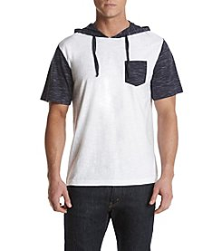 Distortion® Men's Short Sleeve Hooded Tee