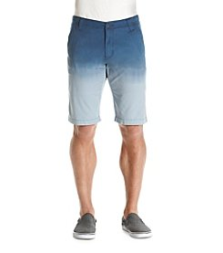Hollywood the Jean People Men's Peyton Dip Dye Twill Shorts