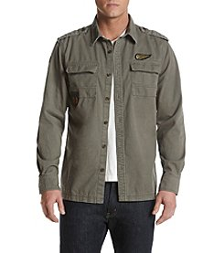 Lazer™ Men's Twill Shirt Jacket