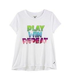 Exertek® Girls' 7-16 Play Win Repeat Tee
